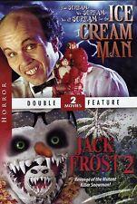 Ice Cream Man / Jack Frost 2 Revenge of the Mutant Killer Snowman, DVD, 2004 New