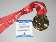Usain Bolt Signed 2008 Olympic Gold Medal Jamaica Beijing Autograph Beckett COA