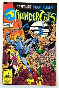 Thundercats #5 Comic Marvel Star Comics Dutch Release Vintage 1980s E945
