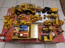 Baumaschinen Modelle 1:50 Sammlung Cat  Atlas LKW Bagger Fuchs Conrad NZG