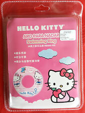"Hello Kitty Swim Ring Inflatable Swimming Pool Float Ring Fun Child 24"" B New FS"