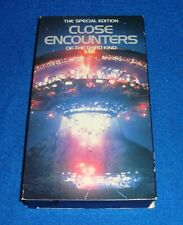 Close Encounters of the Third Kind The Special Edition Vhs
