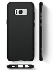 Custodia Samsung Galaxy S8 2017 Spigen [Liquid Crystal] Cover Protezione - NERO