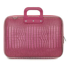 "Bombata - Pink Cocco 15"" Laptop Case/Bag with Shoulder Strap"