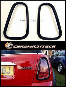 BLACK Tail Llight Rear Light Surround for 01-06 MINI Cooper/Cooper S/ONE R50 R53