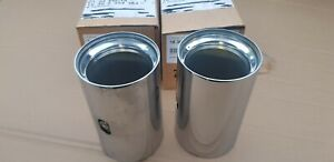 BMW 2 3 4 5 6 SERIES M PERFORMANCE EXHAUST TAILPIPE TIPS
