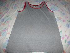 """vintage 80s RAYON TRI BLEND HEALTHKNIT TANK TOP t shirt XL 46"""" CHEST"""