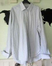 Unbranded Striped Cotton Double Cuff Formal Shirts for Men
