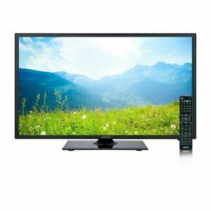 "Axess TV1705-19 19"" Thin Panel AC/DC 19-Inch LED HDTV w/ HDMI & Analog TV Tuner"
