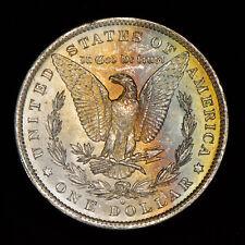 1883-O Morgan Silver Dollar - Original Neon Rainbow Color Toning - Lot#Z513