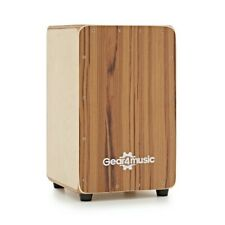 More details for compact cajon and gigbag by gear4music teak