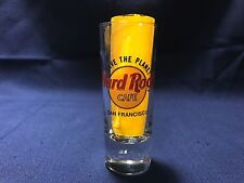 """Hard Rock Cafe SAN FRANCISCO CA Save The Planet 4"""" Shooter Double Shot Glass"""