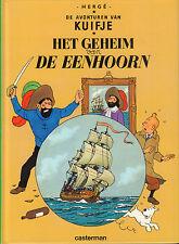KUIFJE - HET GEHEIM VAN DE EENHOORN - Herge (KLEINE HARDCOVER)