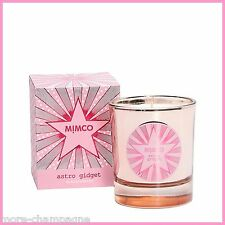 MIMCO ASTRO GIDGET CANDLES  Rose-Gold Glass 40 Hours Blackcurrant Boxed P/U ONLY