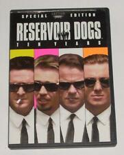 Reservoir Dogs Dvd 1991 Movie (10 Years Special Edition 2002) Quentin Tarantino