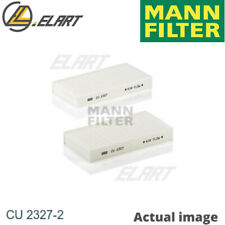 Filter,interior air for HONDA CIVIC VII Hatchback,EU,EP,EV MANN-FILTER CU 2327-2