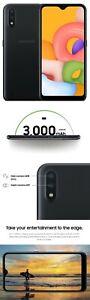 Samsung Galaxy A01 S111DL - 16GB - Black (TracFone) (Single SIM)