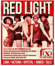 F(X) RED LIGHT/PINK TAPE Korea Official Photocard Sulli/Amber/Victoria/Luna/GRP