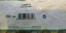 New Panduit Wire Retainer, FWR-C, (Bag of 100)