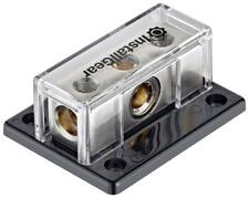 InstallGear 0/2/4 Awg Gauge Power Distribution Block 1/0 Gauge in to (2) 4/8