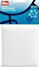 PRYM RICAMO interfacciamento BIANCO (968 205) 90 x 45cm Wide, gratis P&P