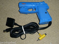 PLAYSTATION 2 PS2 1 PS1 PSONE LIGHT GUN PISTOLA IN BLU GAME CONTROLLER Blaster