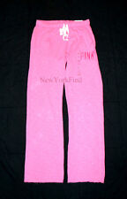 NEW VICTORIA'S SECRET LOVE PINK SWEATPANTS Boyfriend Fit Pants Drawstring Logo
