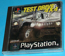 Test Drive 4X4 - Sony Playstation - PS1 PSX - PAL