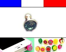 Cache anti-poussière jack universel iphone protection capuchon bouchon Diaman 10
