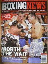 BOXING NEWS 23 MARCH 2007 JUAN MANUEL MARQUEZ DEFEATS MARCO ANTONIO BARRERA