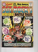 SGT. ROCK'S PRIZE BATTLE TALES 1 - VG/F 5.0 - 80 PAGE GIANT (1964)