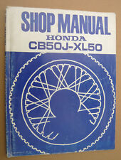 HONDA cb50 J xl50_1977 _ SHOP MANUAL _ officina libro _ Officina Manuale _ libro _ Book