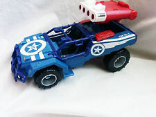 Marvel Universe Captain America Battle Vehicle No missiles 3.75 inch scale toy