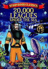Storybook Animated Classics - 20,000 Leagues Under The Sea DVD, 2006 Jules Verne