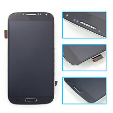 Blue For Samsung Galaxy S4 SIV i9500 LCD Display +Touch Screen Digitizer +Frame