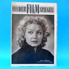 DDR Filmspiegel 23/1956 Gisela Trowe Tinko Jaques Tati Irina Skobzewa Rumjanzew