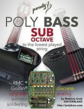 Polybass Subbass (Hex Octaver) per Godin MULTIAC SA/ACS o RMC Polydrive