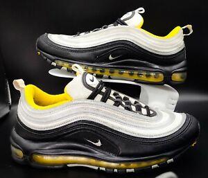 Nike Air Max 97 Steelers 2018 Black Grey Yellow 921826-008 Size 9 Men's