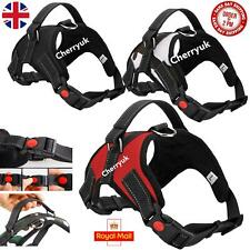More details for no pull dog pet harness vest strong adjustable reflective padded safety puppy uk