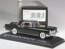 TOP: Minichamps Lincoln Continental Mk. II schwarz 1958 in 1:43 in OVP