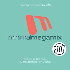 CD Minimal Megamix 2017 d'Artistes Divers 2CDs