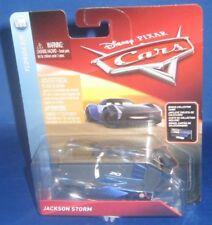 DISNEY PIXAR CARS 3 JACKSON STORM CAR FLORIDA 500 BONUS COLLECTOR CARD, NFRP