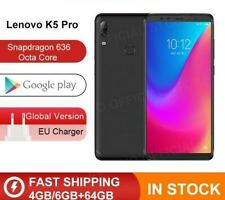 "Global Version Lenovo K5 Pro 4GB 64GB Snapdragon636 OctaCore Smartphone 4 Cam 6"""