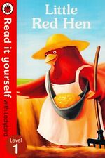 Little Red Hen Read it yourself with Ladybird Level 1 BRAND NEW (Paperback 2013)