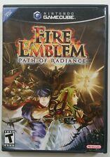 Fire Emblem: Path of Radiance (Nintendo GameCube, 2005) Case Manual Game