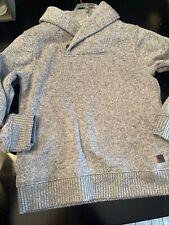 Janie & Jack Boys Gray Sweater Size 4