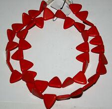 Rote Triangle trade beads Tuareg bohemian