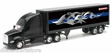 NEW RAY KENWORTH T700 WITH TRAILER W/ GRAPHICS 1/32 DIECAST NEW IN BOX 10273