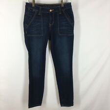 Jag Jeans Women's pants jeans size 2 mid rise slim ankle stretch