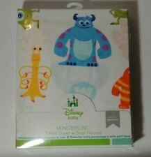 Brand New 2014 Disney Baby Monsters Inc Fitted Crib Sheet 100% cotton 52 x 28 in